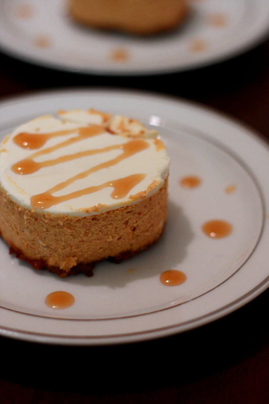 Runs With Spatulas: Bourbon Pumpkin Cheesecake