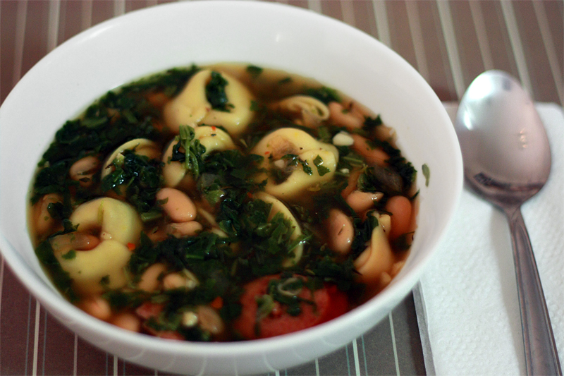 recipe for tortellini and kielbasa soup soup now that was something i ...