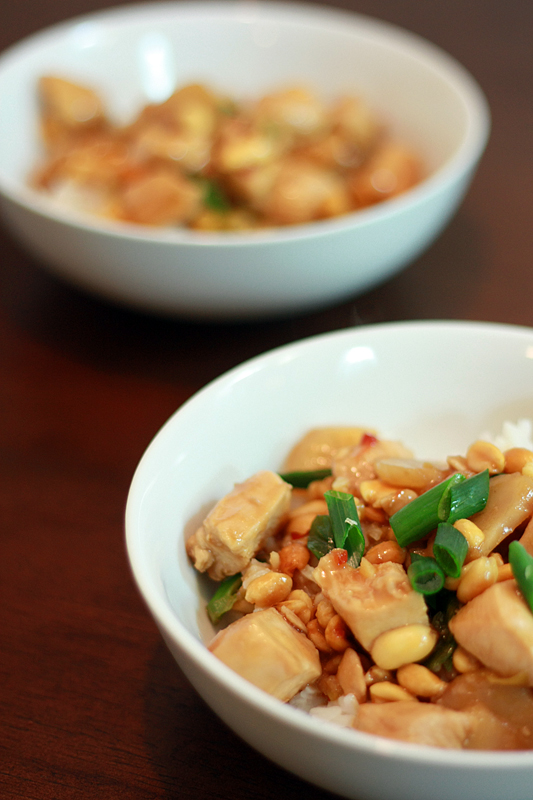 Kung Pao Chicken. It doesn't hurt that Kung Pao