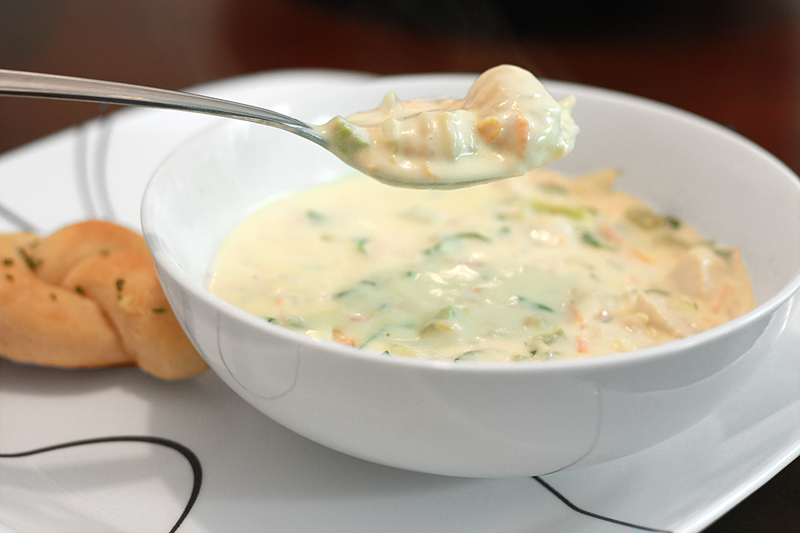 Runs With Spatulas Chicken Gnocchi Soup