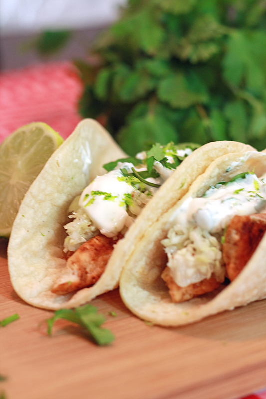 Runs With Spatulas: Ancho Chicken Tacos