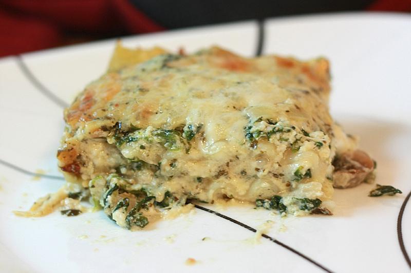 and mushroom lasagna creamy spinach and mushroom lasagna recipe yummly ...