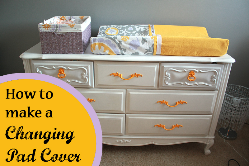 Crafty Fridays: How To Make A Changing Pad Cover